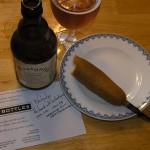 tasting notes on mustard ale & corndogs