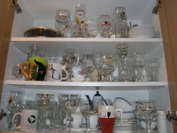 the Serving Ware cupboard