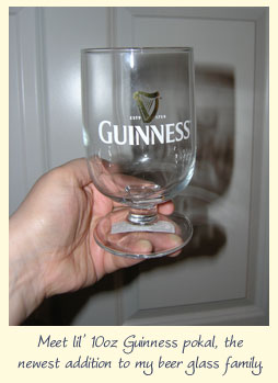Got a beer glass for that?