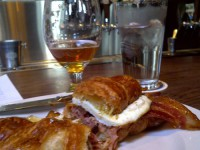A proper beer breakfast at Brouwer's Cafe