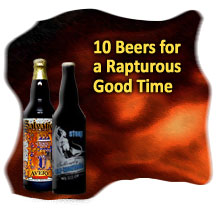 10 beers for a rapturous good time