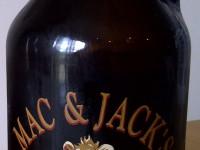 Mac & Jack's growler