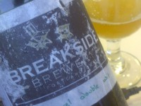 Breakside Gin Barrel Double Wit
