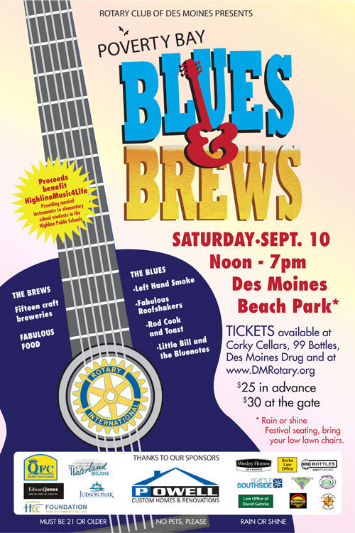 Blues & Brews on Poverty Bay