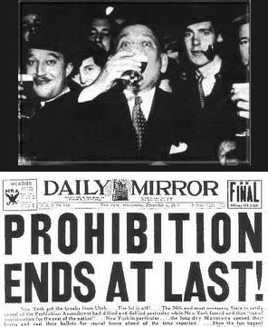 Prohibition, or a Case of Supply vs. Demand?