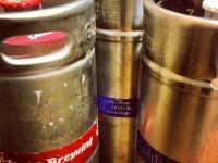1/6 BBL cylinder kegs