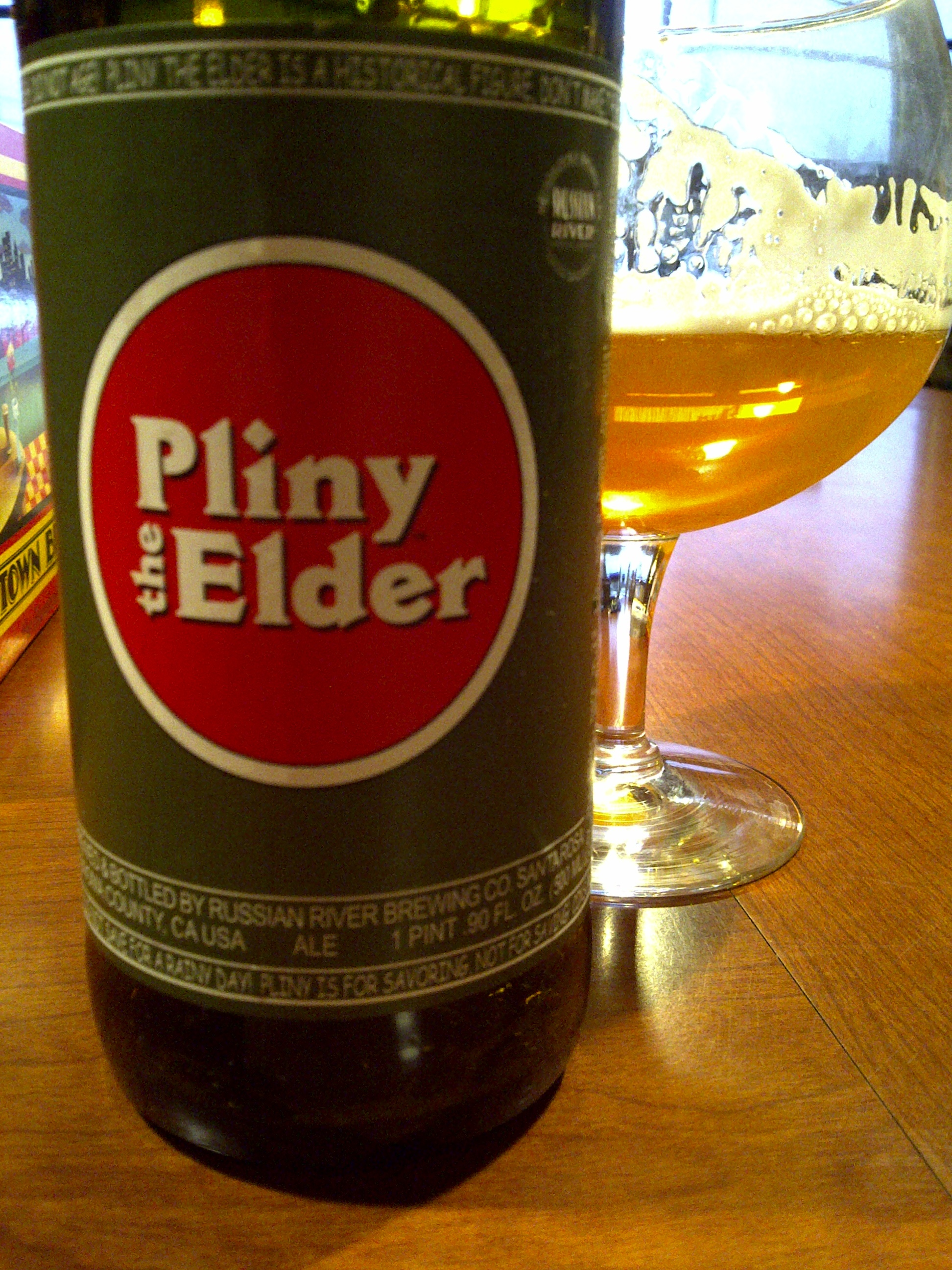 Pliny woes. I need a strong one. Lockin' it up.