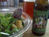 IPA & salad