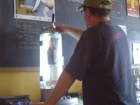 filling growlers
