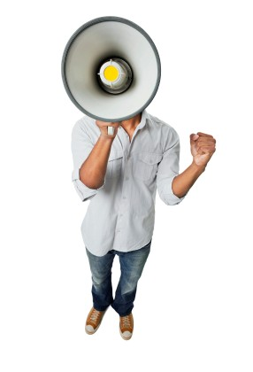 Share your beer theory! You have a bullhorn -- your beer blog. You have a strong voice.