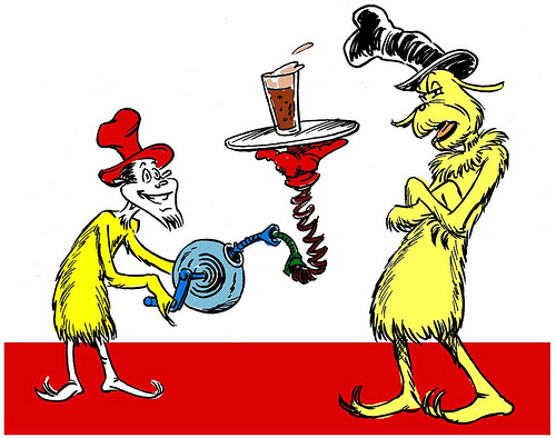 "Do you have the ""Dr. Seuss"" beer?"