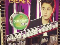 Justin Bieber Duck Tape