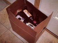 beer bottles for kids, the best kind of recycling