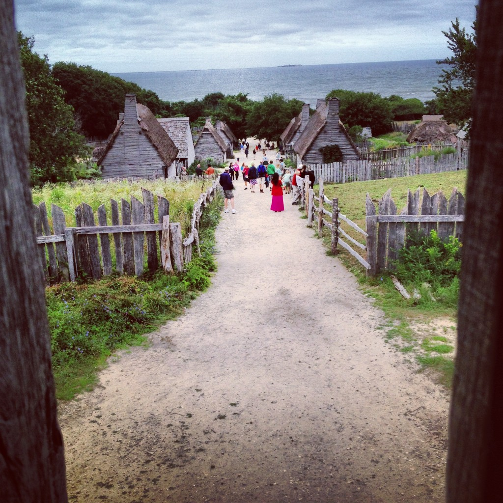 the English settlement at Plimoth Plantation