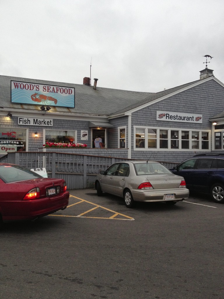 Wood's Seafood in Plymouth, Mass.