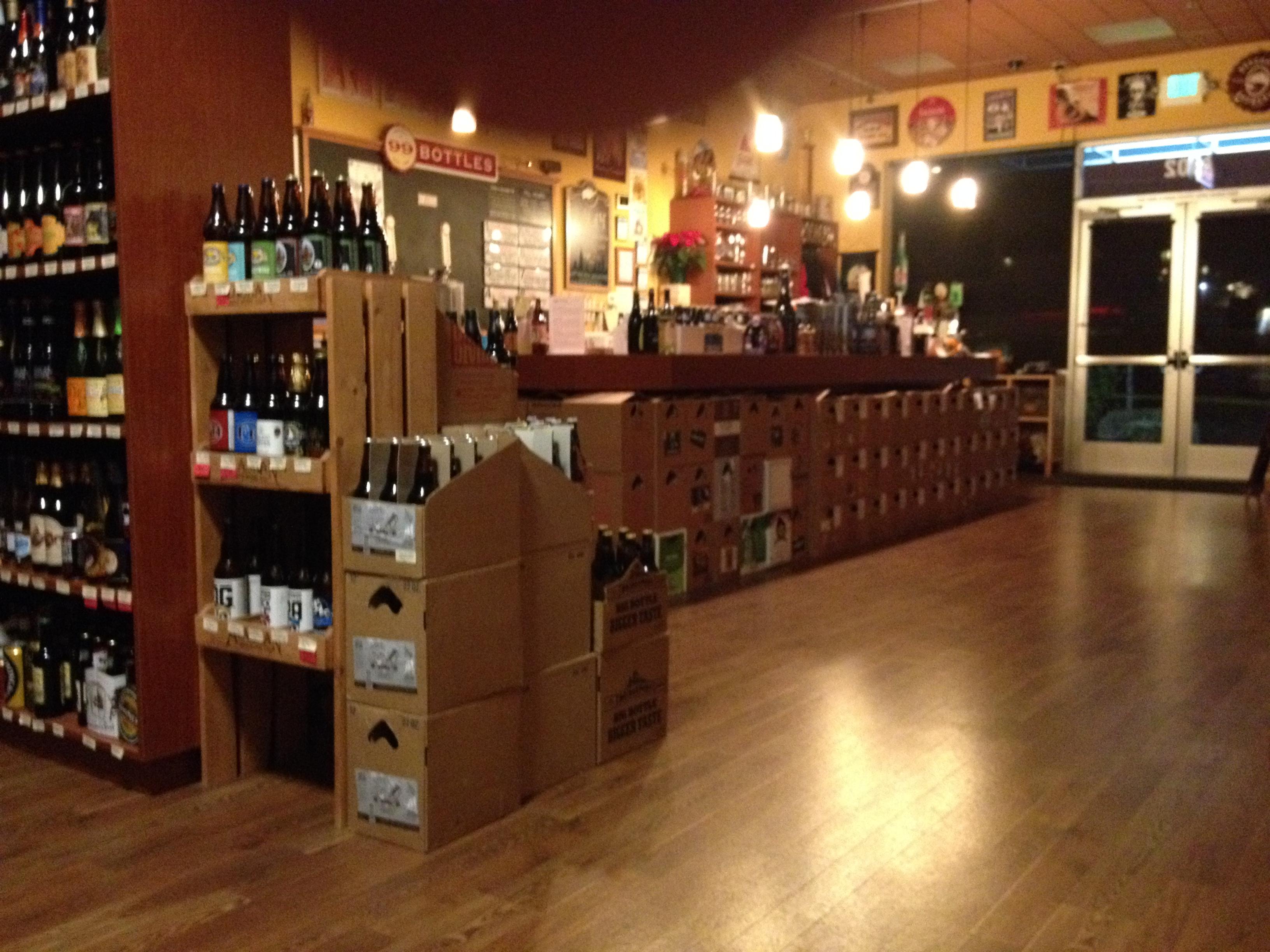 Beer store regulars